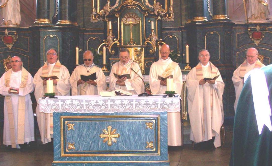 Priesterweihe Walter Bucher